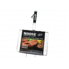 Решетка-гриль Moose эластичная большая универсальная 40x30см для рыбы, мяса, птицы, овощей, грибов TM MOOSE, арт. 50603