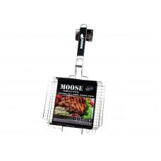 Решетка-гриль Moose глубокая 30х25cм для рыбы, мяса, птицы, овощей, грибов TM MOOSE, арт. 50604
