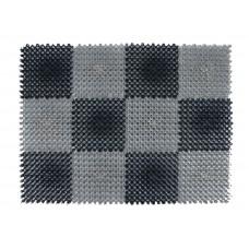 Коврик Modull 42х60 см, чёрно-серый, ТМ Blåbär (Швеция), арт. 92161