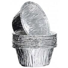 Форма алюминиевая круглая  86х37 мм  МАФФИН (6шт в упак), арт. 71035