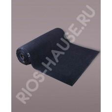 Коврик «Ребристый», черный 120х1500 см.