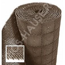 Коврик-дорожка «Gräs», коричневый 98х1180 см.