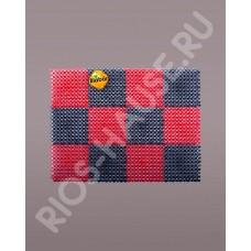 Коврик «Gräs», красно-черный 42х56 см.