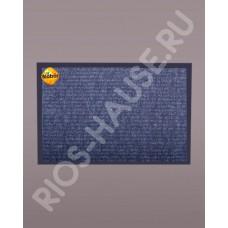 Коврик «Ребристый», серый 120х1500 см.