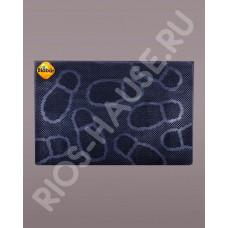 """Коврик резиновый 40х60см, черный """"Следы"""" ТМ Blåbär (Швеция), арт. 92019"""