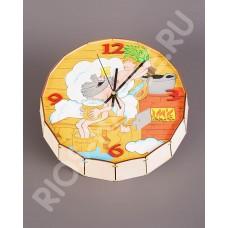 Часы-бочонок «Парюсь по-царски»