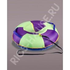 Тюбинг «Simple maxi», фиолетовый диаметр 100 см.