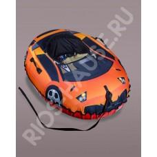 Санки надувные «Super Cars», диаметр 125/100 см.